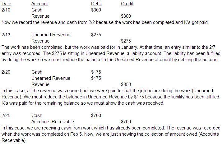 revenue recognition examples  u2013 accounting in focus